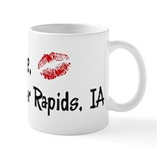 Kiss Me: Cedar Rapids Mug