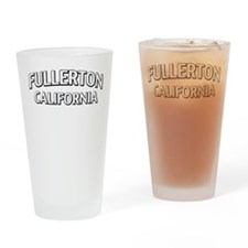 Fullerton California Drinking Glass