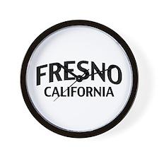 Fresno California Wall Clock