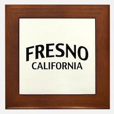 Fresno California Framed Tile