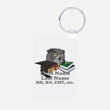 Custom Owl Medical Graduate Keychains