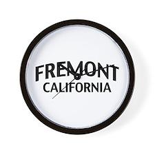 Fremont California Wall Clock