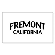 Fremont California Decal