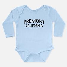 Fremont California Long Sleeve Infant Bodysuit