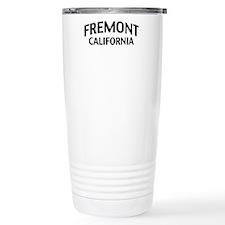 Fremont California Travel Mug