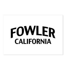 Fowler California Postcards (Package of 8)