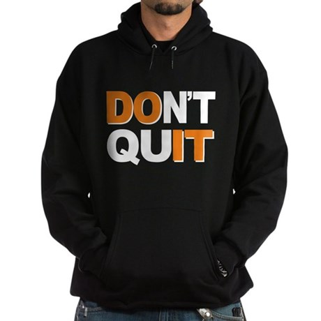 Don't Quit, Do It Hoodie (dark)