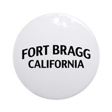 Fort Bragg California Ornament (Round)