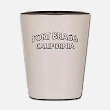 Fort Bragg California Shot Glass
