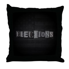 Elections Throw Pillow