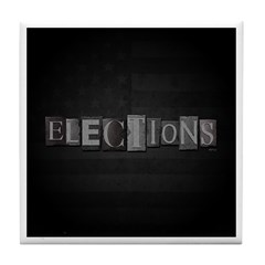Elections Tile Coaster