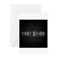 Elections Greeting Card