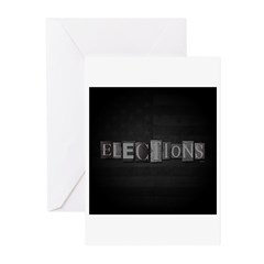 Elections Greeting Cards (Pk of 10)