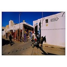 Horsedrawn on the road, Douz, Tunisia
