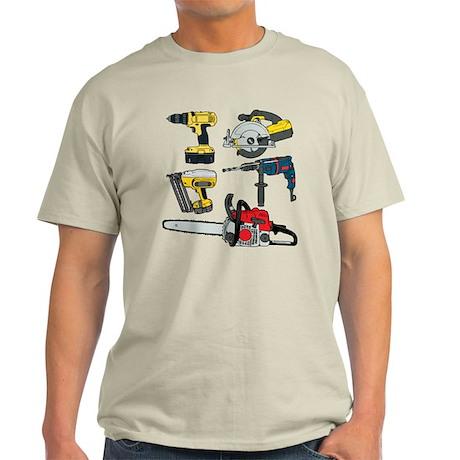 Power Tools. Light T-Shirt