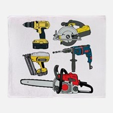 Power Tools. Throw Blanket