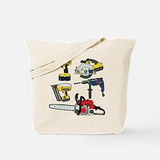 Power Tools. Tote Bag