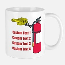 Fire Fighting Equipment Image Mug