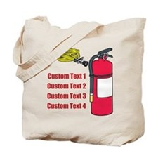 Fire Fighting Equipment Image Tote Bag