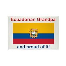 """Proud Equadorian Grandpa Magnet (3""""x2"""")"""