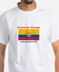 Proud Equadorian Grandpa Shirt