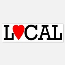 """Local"" Sticker (Bumper)"