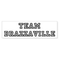 Team Brazzaville Bumper Bumper Sticker
