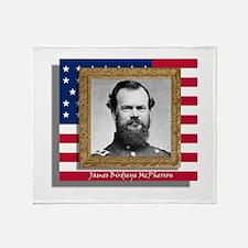 James Birdseye McPherson Throw Blanket