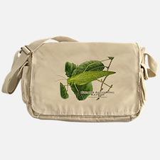 Greater Angle Wing Katydid Messenger Bag