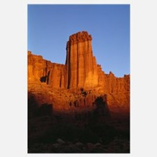 Sunset Light On Fisher Towers