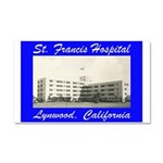 Saint Francis Hospital Car Magnet 20 x 12