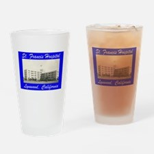 Saint Francis Hospital Drinking Glass