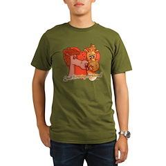 Valentine 2012 Organic Men's T-Shirt (dark)