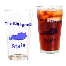 Kentucky: The Bluegrass State Drinking Glass