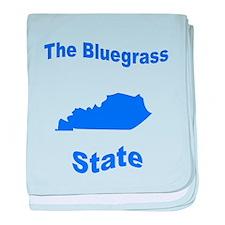 Kentucky: The Bluegrass State baby blanket