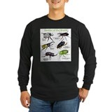 Beetles Long Sleeve Dark T-Shirts