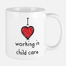 I Love working in child care Mug