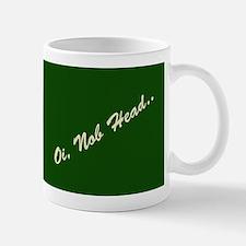 OiNobHead Grn2 Mugs