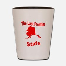 Alaska: The Last Frontier Sta Shot Glass