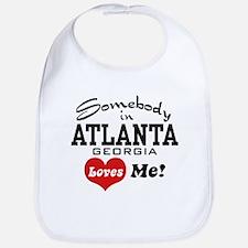 Somebody In Atlanta Loves Me Bib