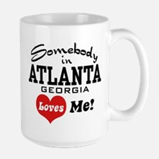 Somebody In Atlanta Loves Me Mug