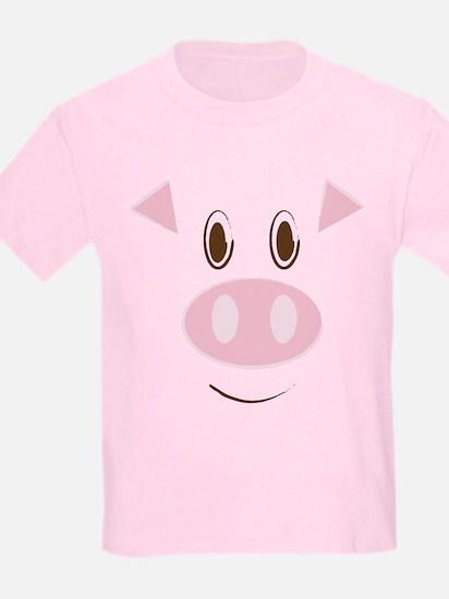 Cute Little Piggy's Face T-Shirt