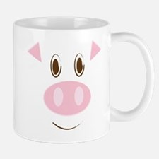 Cute Little Piggy's Face Mug
