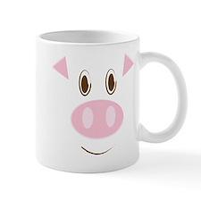 Cute Little Piggy's Face Mug