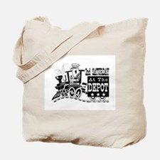 Cute Train music Tote Bag
