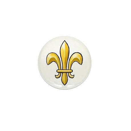 Fleur de Lis Mini Button (10 pack)