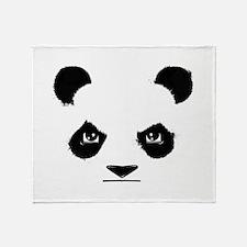 Thug Panda Throw Blanket