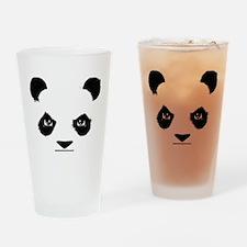 Thug Panda Drinking Glass