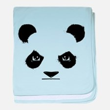 Thug Panda baby blanket