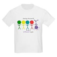 SeeingTheWorldUpAndDown copy T-Shirt